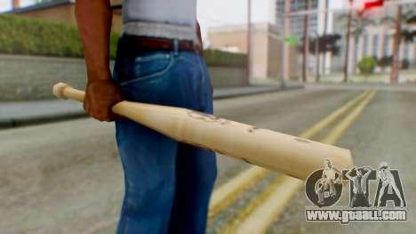 Vice City Baseball Bat for GTA San Andreas