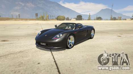 Porsche Carrera GT 2.0 for GTA 5