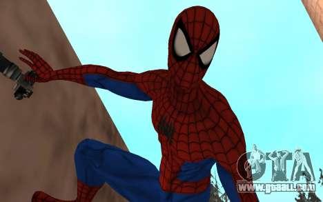 Amazing Spider-Man Comic Version by Robinosuke for GTA San Andreas