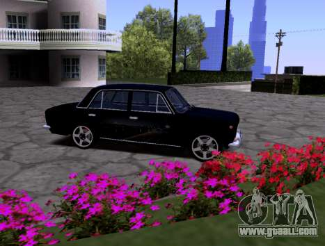 VAZ 2101 KBR for GTA San Andreas side view