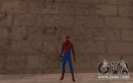 Amazing Spider-Man Comic Version by Robinosuke for GTA San Andreas third screenshot