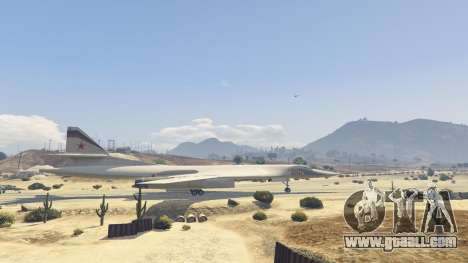 GTA 5 Tu-160 White Swan second screenshot
