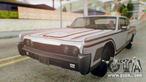 GTA 5 Vapid Chino Tunable for GTA San Andreas engine