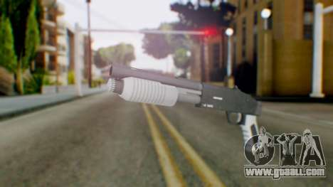GTA 5 Sawed-Off Shotgun - Misterix 4 Weapons for GTA San Andreas