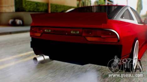 Nissan 240SX Drift v2 for GTA San Andreas back view