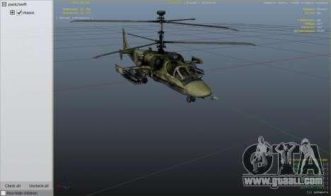 GTA 5 Ka-52 Alligator eighth screenshot