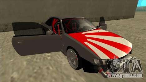Nissan Silvia S14 Drift JDM for GTA San Andreas engine
