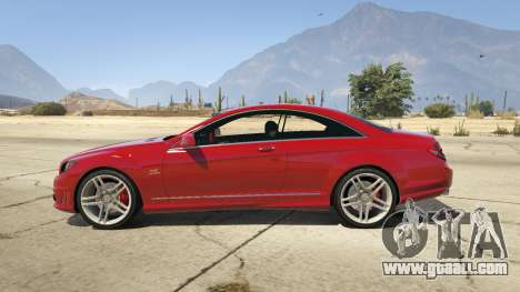 GTA 5 Mercedes-Benz E63 AMG v2.1 left side view
