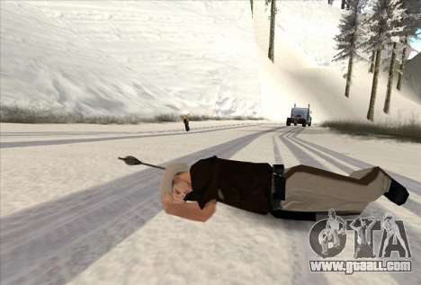 Archery for GTA San Andreas forth screenshot