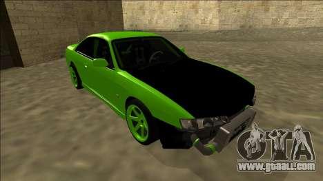 Nissan Silvia S14 Drift for GTA San Andreas left view