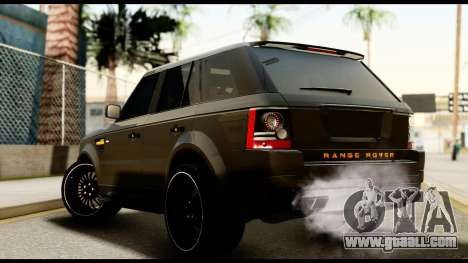 Range Rover Sport 2012 for GTA San Andreas left view