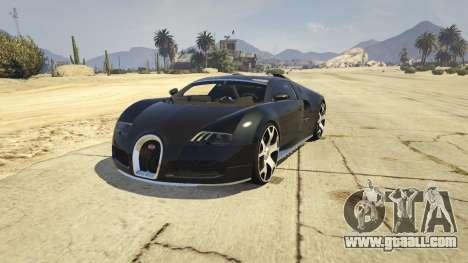 Bugatti Veyron v6.0 for GTA 5
