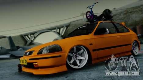 Honda Civic BC YAPIM for GTA San Andreas
