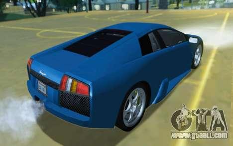Lamborghini Murcielago 2005 for GTA San Andreas side view