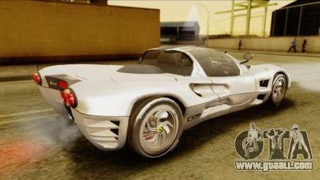 Ferrari P7 Spyder for GTA San Andreas back left view