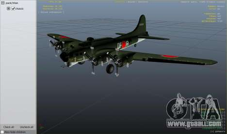GTA 5 Boeing B-17 Flying Fortress sixth screenshot