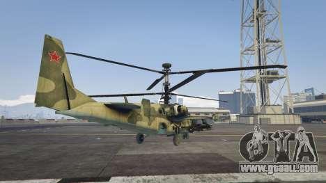 GTA 5 Ka-52 Alligator third screenshot