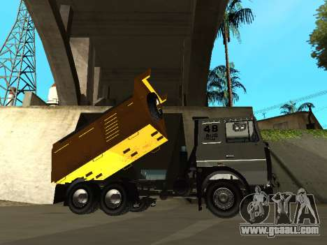 MAZ 551605-221-024 for GTA San Andreas back left view