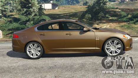 GTA 5 Jaguar XFR 2010 left side view