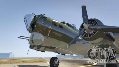 GTA 5 Boeing B-17 Flying Fortress fifth screenshot