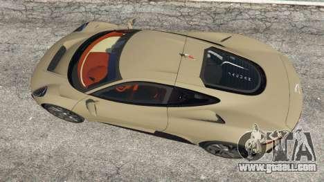 GTA 5 Jaguar C-X75 back view