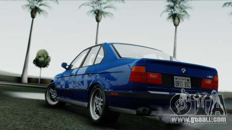 BMW M5 E34 US-spec 1994 (Full Tunable) for GTA San Andreas