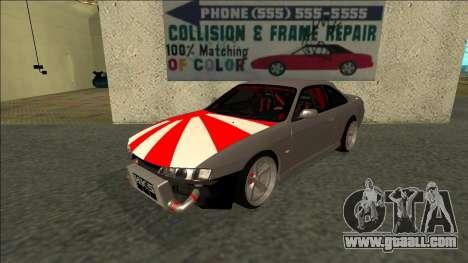 Nissan Silvia S14 Drift JDM for GTA San Andreas