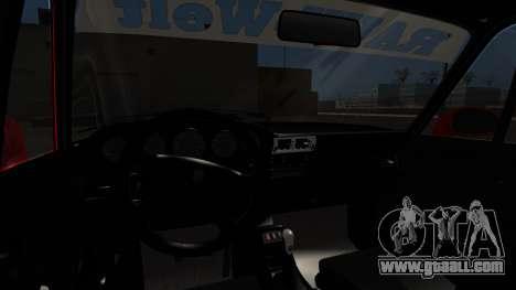Porsche 993 GT2 RWB Rough Rhythm for GTA San Andreas back left view