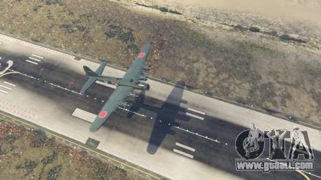 GTA 5 Boeing B-17 Flying Fortress fourth screenshot