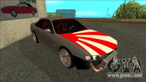Nissan Silvia S14 Drift JDM for GTA San Andreas left view