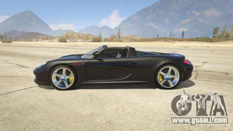 GTA 5 Porsche Carrera GT 2.0 left side view