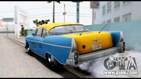 GTA 5 Declasse Cabbie v2 for GTA San Andreas left view