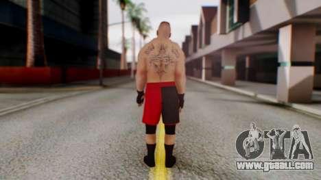 Brock Lesnar for GTA San Andreas third screenshot