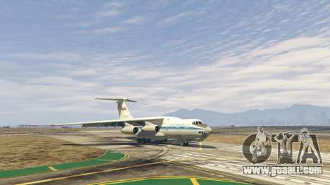 GTA 5 The IL-76 v1.1 fourth screenshot