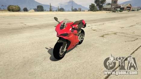 Ducati 1299 Panigale S v1.1 for GTA 5