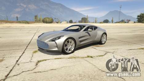 2012 Aston Martin One-77 v1.0 for GTA 5