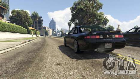 GTA 5 Nissan 200sx S14 Kouki rear right side view