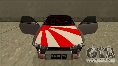 Nissan Silvia S14 Drift JDM for GTA San Andreas interior