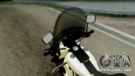 New Police Bike for GTA San Andreas back view