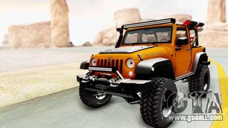 Jeep Wrangler Off Road for GTA San Andreas