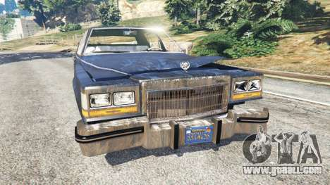 Cadillac Fleetwood Brougham 1985 [rusty] for GTA 5