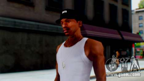 Mafia Cap Black White for GTA San Andreas