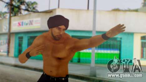 Jinder Mahal 1 for GTA San Andreas