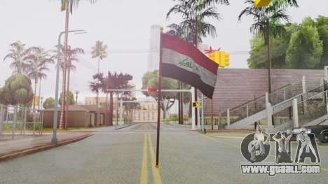 Iraq Flag HD for GTA San Andreas second screenshot
