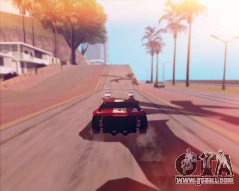 Banshee Twin Mill III Hot Wheels v1.0 for GTA San Andreas back view
