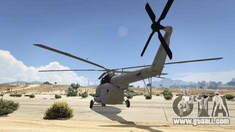 Mi-8 for GTA 5