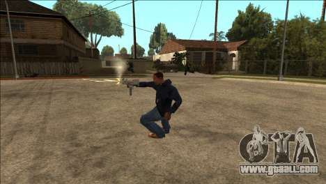 Additional animation TEC-9 for GTA San Andreas second screenshot