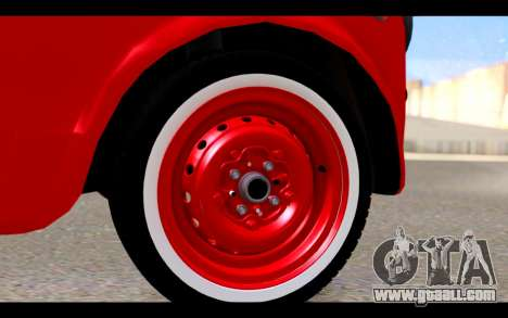 Zastava 750 - The Cars Movie for GTA San Andreas right view
