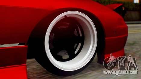 Nissan 240SX Drift v2 for GTA San Andreas back left view