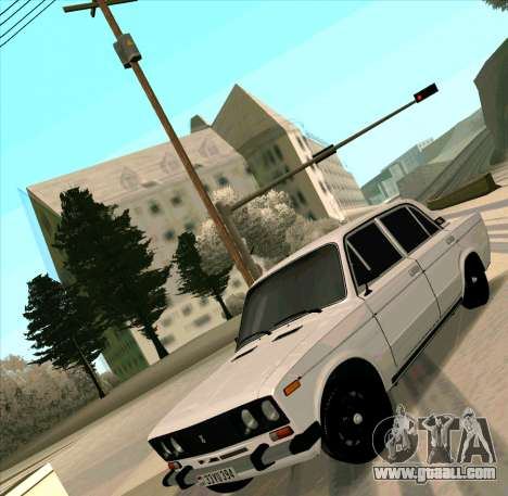 VAZ 2106 [ARM] for GTA San Andreas back view